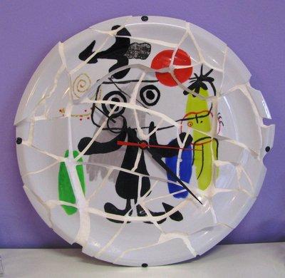 Orologio da parete mosaico Mirò