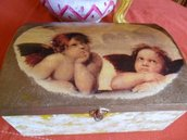 Cofanetto a decoupage