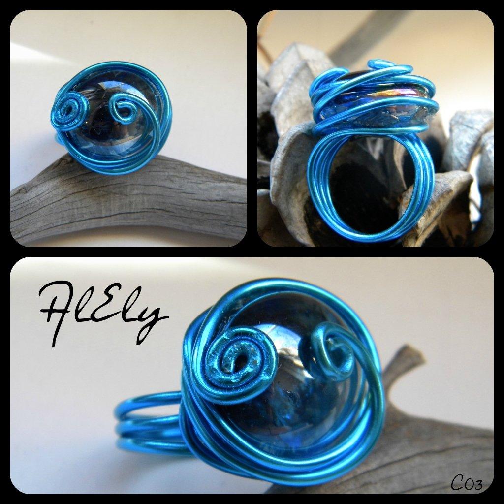 Cuore di Poseidone anello wire C03