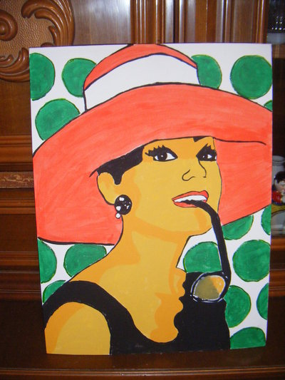 QUADRI AUDREY POP ART