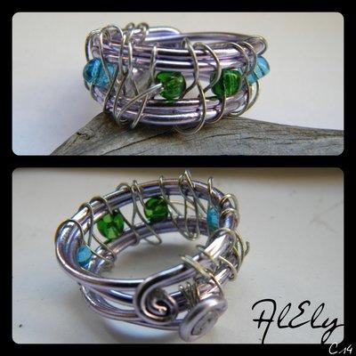 Albero d'argento anello wire C14
