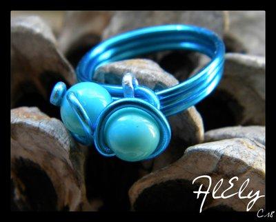 Vagabondo del mare anello wire C18