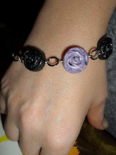 braccialetto rose
