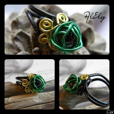 Edera velenosa anello wire C26
