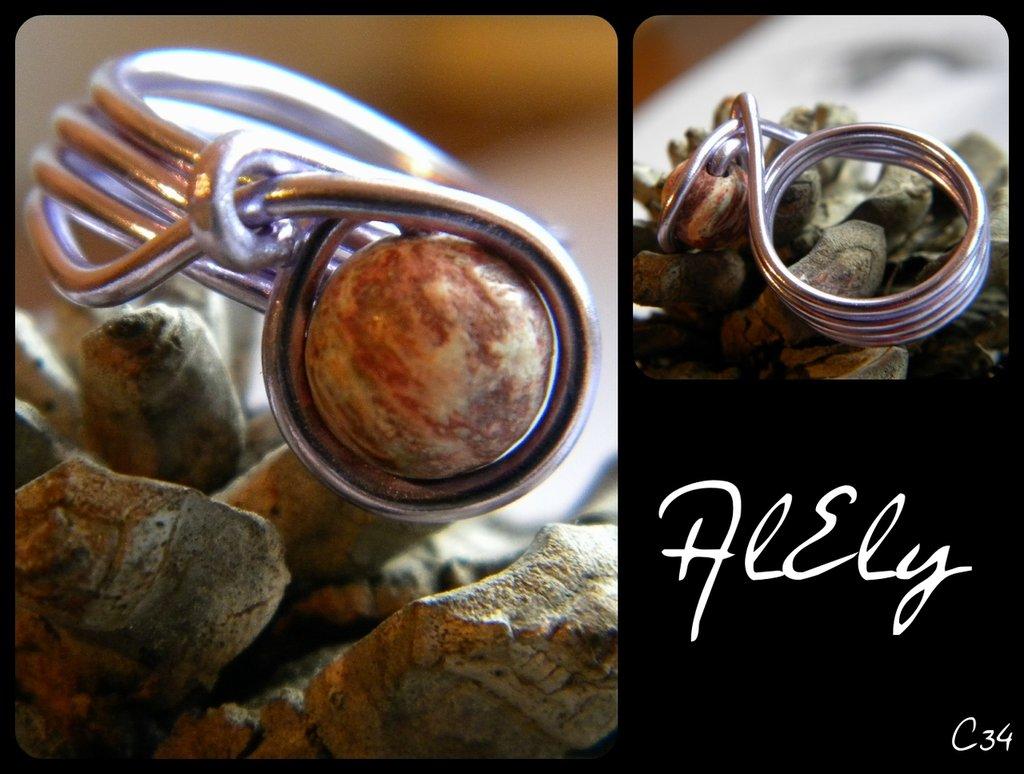 India anello wire C34