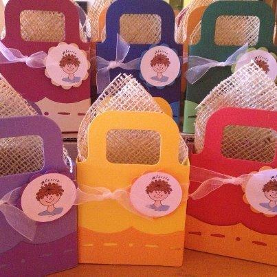 sacchettino/borsetta in cartoncino per bomboniere o  per le vostre creazioni