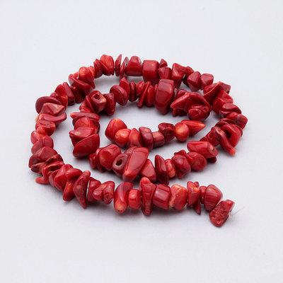 filo chips corallo 38cm