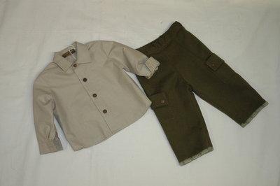 mod.31-95 tg.M6/12 pantalone con camicia