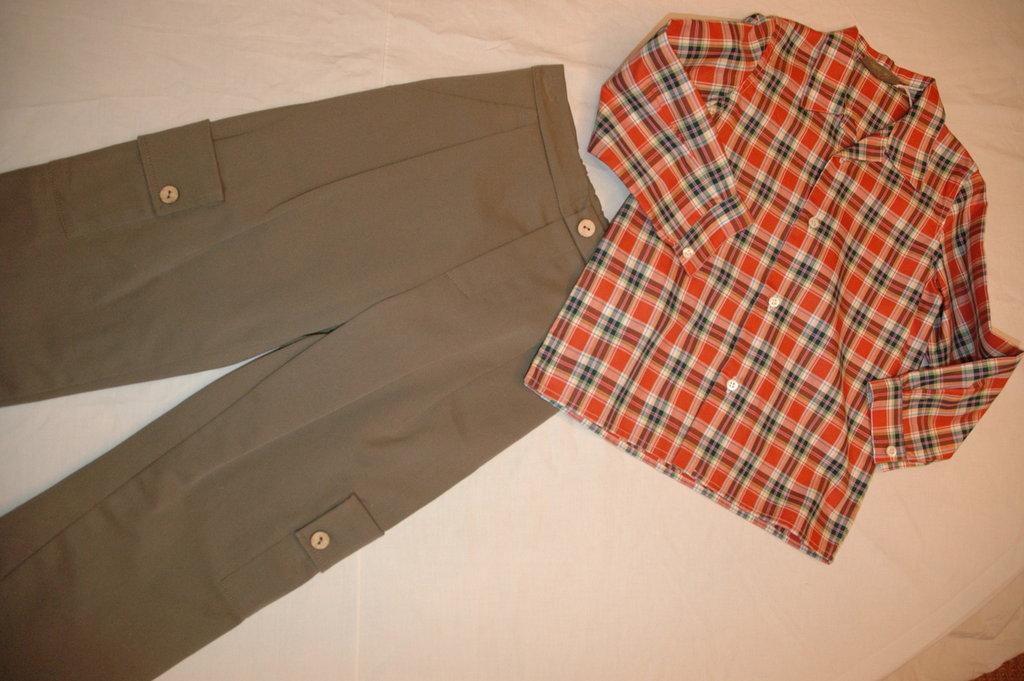 mod.31-96 tg.A4/5 pantalone con camicia