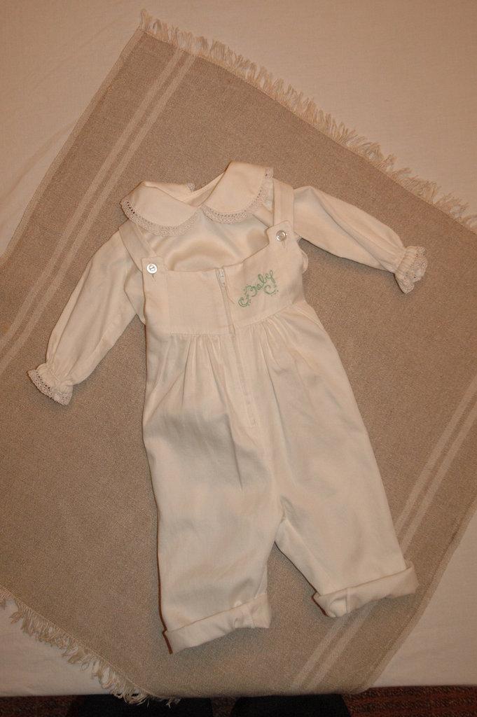 mod.38-101 tg.M3/6 salopette con camicia baby