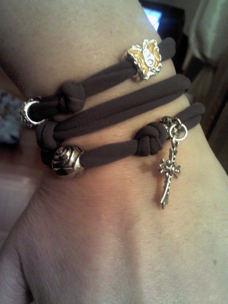 bracciale moda in tessuto