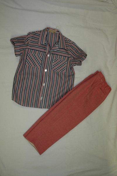 mod.150-45 tg.A4/5 completo camicia pantalone