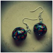 orecchini multicolore