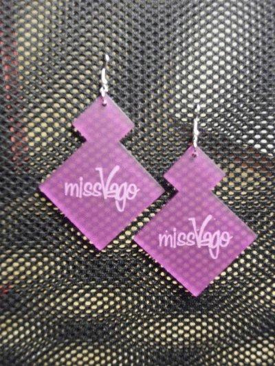 Orecchini MissVago rosa