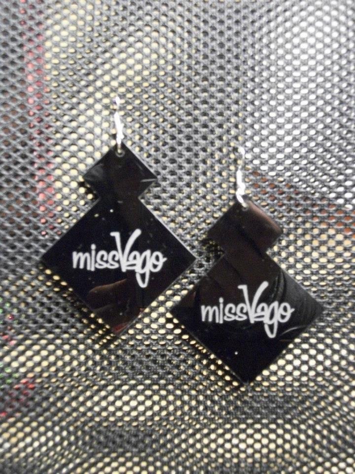 Orecchini MissVago neri