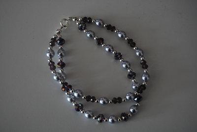 Bracciale con perle e cipollotti