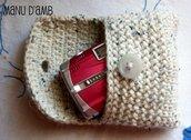 Porta fotocamera crochet