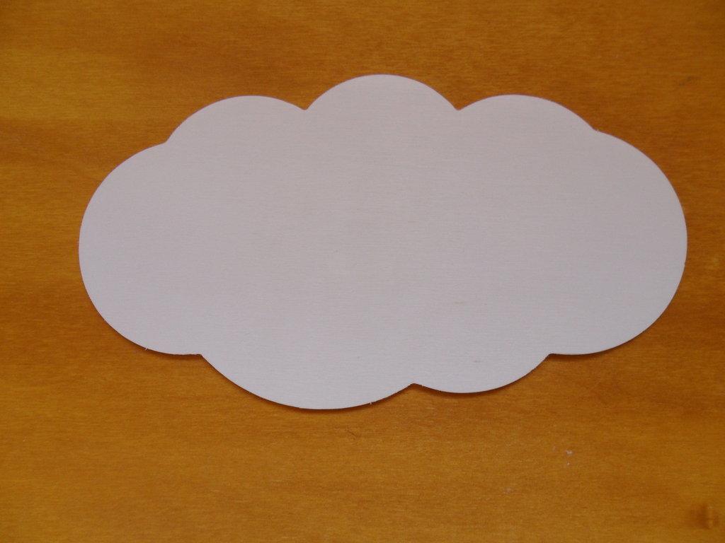 lotto 10 targhette nuvola