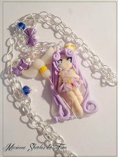 Sailor Cosmos Collana Fimo