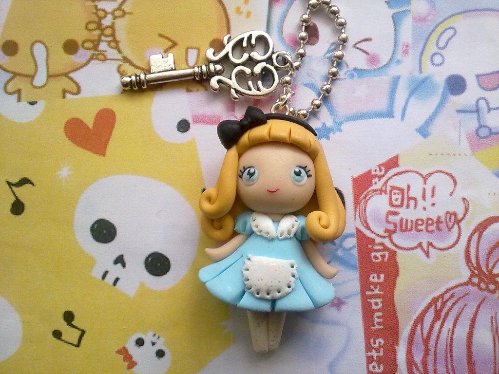 Collana in fimo Alice