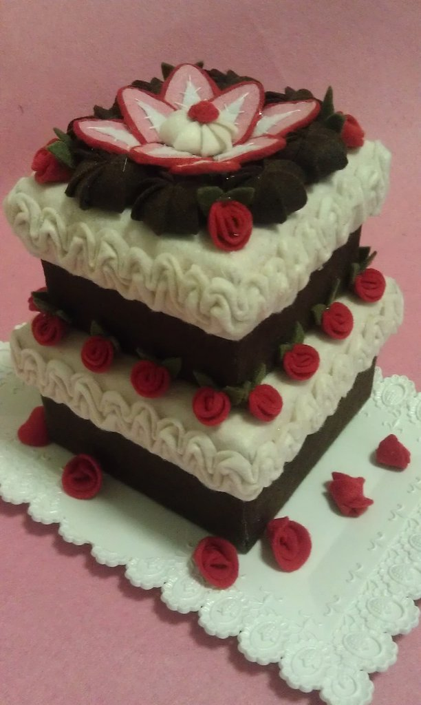 Box cake a due piani