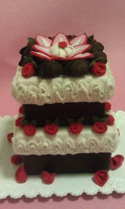 Box cake a due piani per la casa e per te decorare for Piani a due piani per la casa