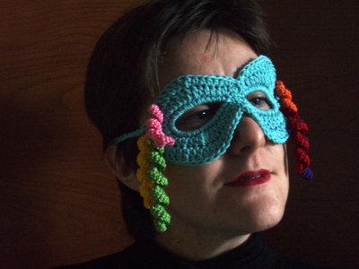 Maschera di carnevale crochet