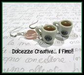Orecchini Starbucks Tea