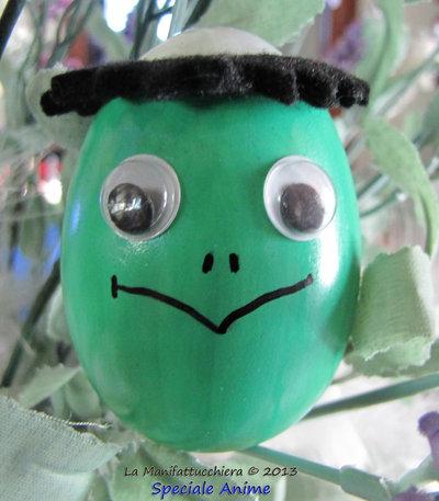 Il Kappa giapponese, Uovo decorato