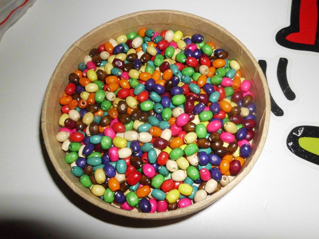 200 Perline in legno