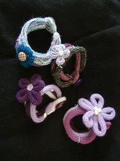 bracciali di lana