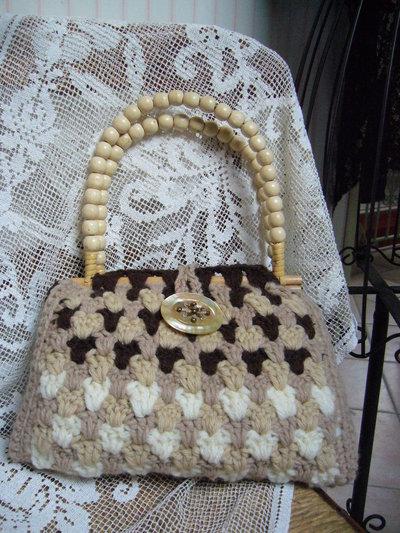 borsa in lana 3 colori