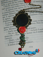 "Collana ""roses at mirror"""