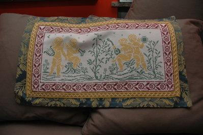 copricuscino handmade