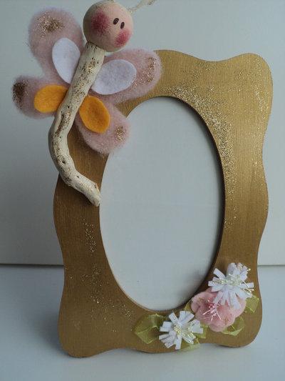 Portafoto decorato a mano per bambino/a