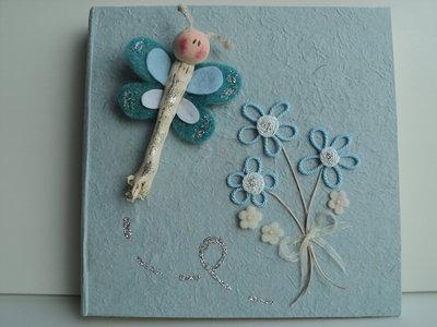 Album bambino decorato a mano