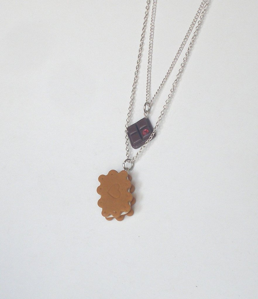 COLLANA PetitPatisserie BISCUIT and CHOCO - Necklace