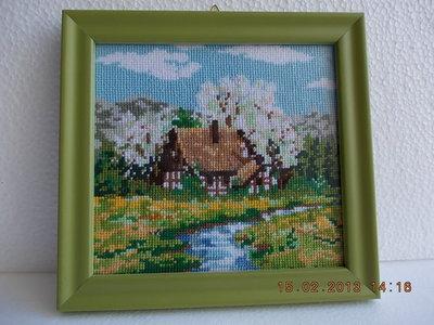 """Quadro """"Paesaggio di Primavera"""""""