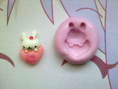 Stampino coniglietto sul <3