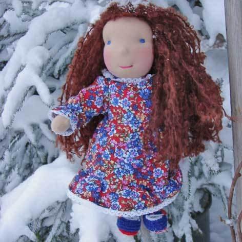 bambola Waldorf Rosita, 35 cm