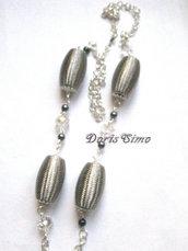 collana grigio perla