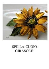 SPILLA-CUOIO GIRASOLE.