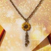Collana girasole elegante