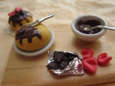 piano preparazione dolce zuccotto al cioccolato in fimo