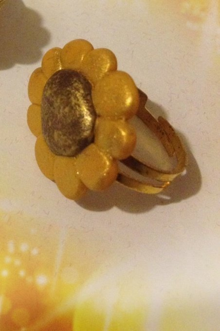 Anello girasole