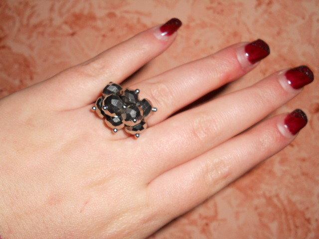 anello con pendenti argento