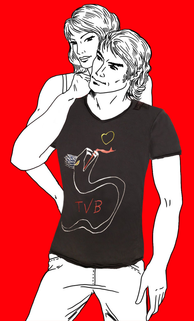 T-SHIRT TVB by PELITTA-SERPENTE
