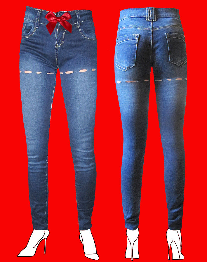 JEANS DONNA SEXY AND REBEL by PELITTA-GARTER