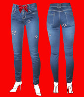 JEANS DONNA SEXY AND REBEL by PELITTA-FLOWERS