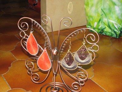 orecchini peruviani